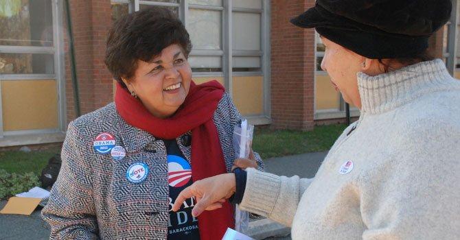 Ana Sol Gutiérrez busca reelección como delegada