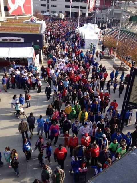 Cientos participaron en la Caminata por el Corazón, en DC, el sábado 10.