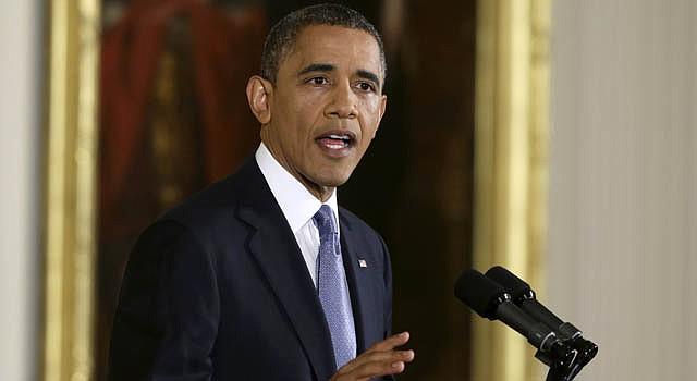 El presidente Barack Obama en conferencia de prensa el miércoles 14 de noviembre. Hablo sobre una reforma migratoria integral.