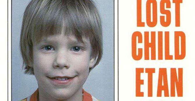 Etan Patz desapareció hace más de 33 años en Nueva York. Tenía 6 años.