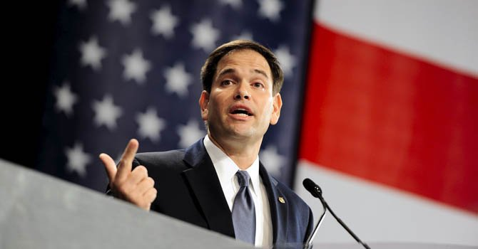 El senador republicano por la Florida Marco Rubio.