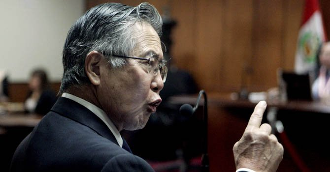El ex presidente peruano Alberto Fujimori en 2009.