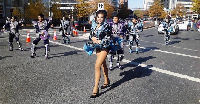 Desfile de Thanksgiving en Silver Spring