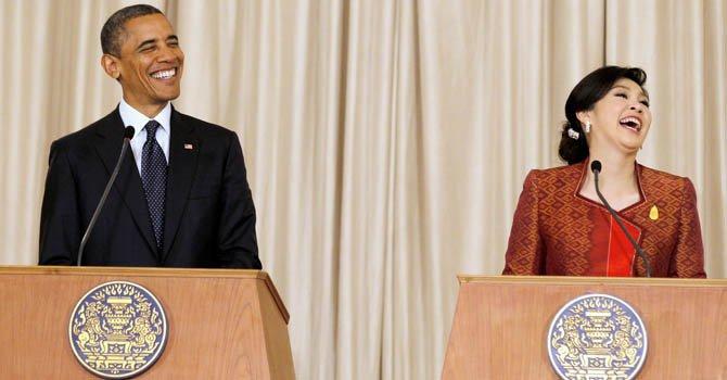 Obama inicia en Tailandia una gira por Asia