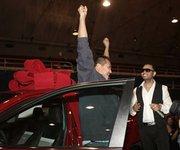 Durante la Feria de la Familia de Telemundo rifaron un automóvil.