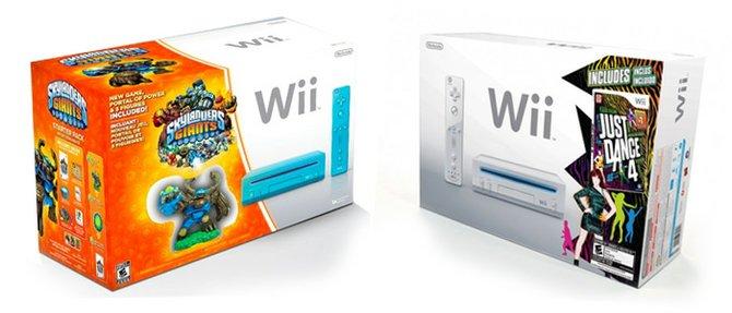 Nuevos paquetes de Wii con Just Dance o Skylanders