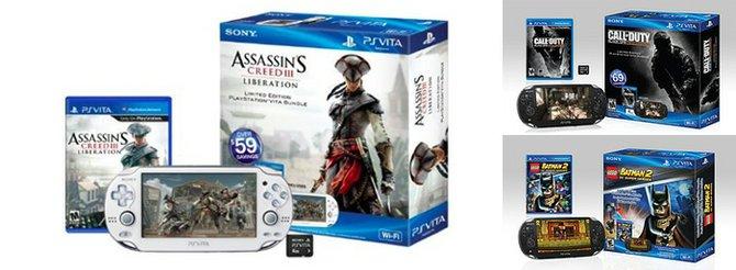 Sony descuenta los paquetes de PS Vita