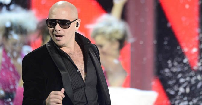 "Pitbull lanza su disco  ""Global Warming"""