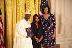 Premiados en el National Arts and Humanities Youth Program Award 2012, el 19 de noviembre.