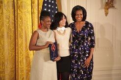 Premiados en la Casa Blanca por el National Arts and Humanities Youth Program Award 2012.