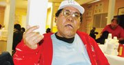 ESPERA. Oscar Ortiz, de 60 años, no trabaja desde hace tres meses.