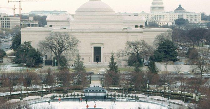 WASHINGTON. En el Jardín de Esculturas de la Galería Nacional de Arte.