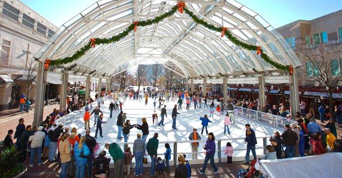 A patinar sobre hielo en DC, VA y MD