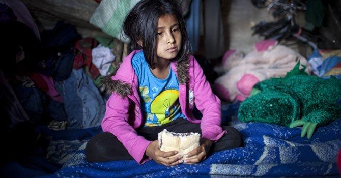 Aunque bajó en las últimas décadas, el número de niños y adultos que padecen hambre sigue siendo alarmante en la región.