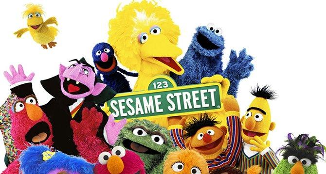 Personajes de Sesame Street.
