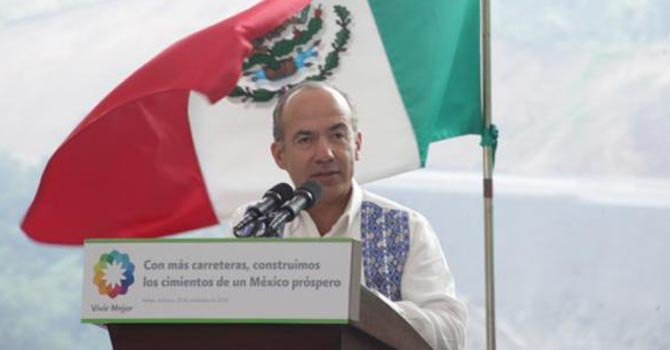 Felipe Calderón, quien culmina su mandato en diciembre, presentó la propuesta al Congreso.