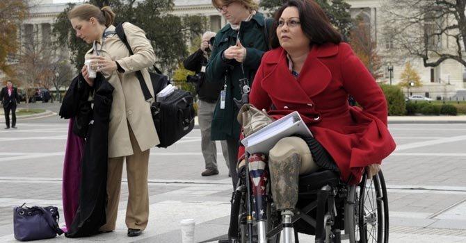 Tammy Duckword es una de nueve ex militares que estuvieron en Irak y Afganistán y que en 2013 asumirán sus cargos como legisladores.