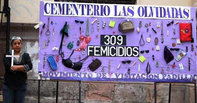 Denuncian en DC violencia de género en Latinoamérica