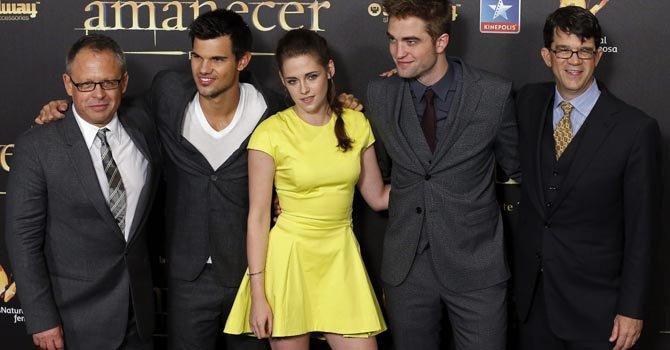 """La última entrega de la saga de """"Twilight"""" se mantuvo en el liderato de la taquilla por dos semanas."""