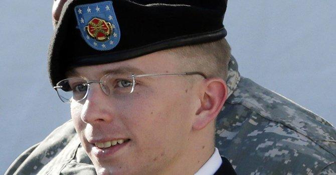 El soldado Bradley Manning estuvo detenido en Quantico, Virginia; luego en Kansas.