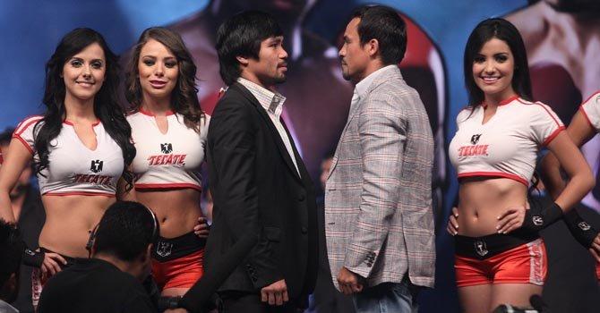 Éste será el cuarto combate entre el filipino Manny Pacquiao y el mexicano Juan Manuel Márquez.
