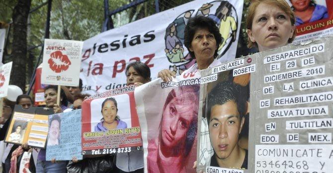 México: 100 mil homicidios durante etapa de Calderón