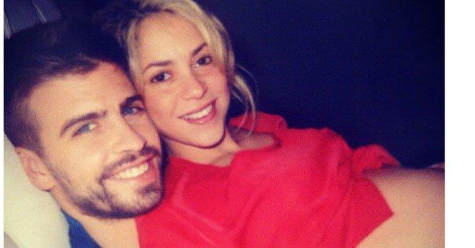 """Shakira compartió a través de Facebook e Instagram su foto diciendo """"Podría estar nueve meses así""""."""