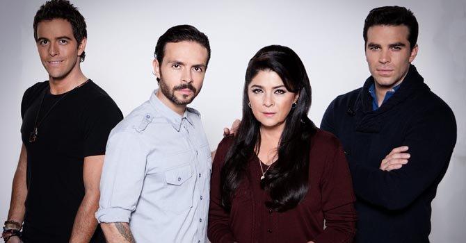 Victoria Ruffo vuelve a la telenovela