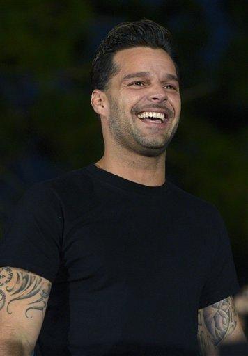 El puertorriqueño Ricky Martin