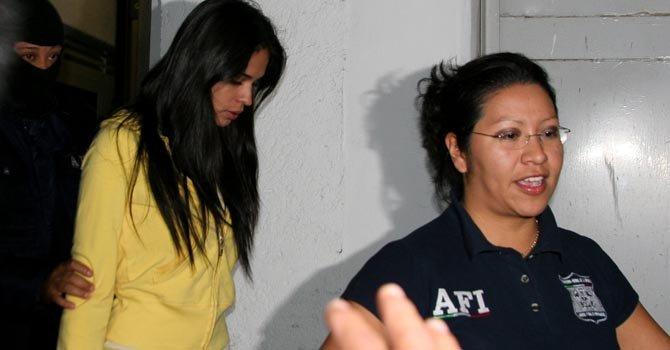 Laura Elena Zuñiga Huizar, Miss Sinaloa 2008, estuvo detenida en 2009 por vínculos con el crimen organizado.