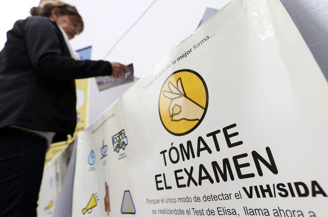 En Chile, se llamó a la población a hacerse la prueba de VIH.