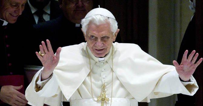 """El Papa dice que 2013 será """"un año de paz"""""""