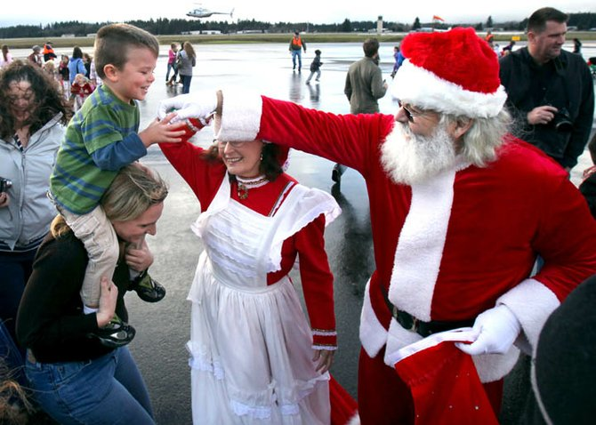 Santa en Washington state