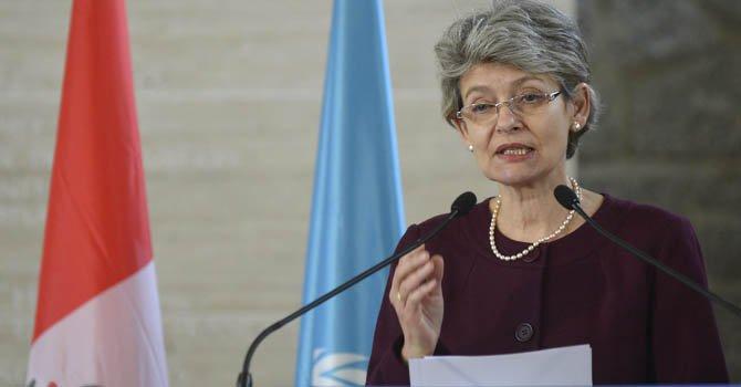 La directora general de la UNESCO, Irina Bokova.