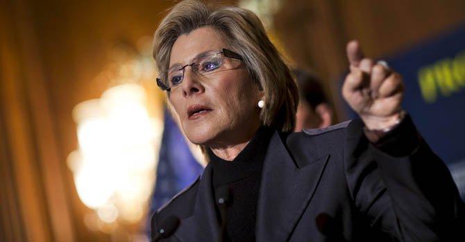 La senadora demócrata de California, Barbara Boxer.