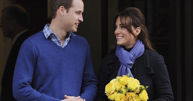 Los príncipes de Cambridge esperan su primer hijo, que será tercero en la línea de sucesión al trono.
