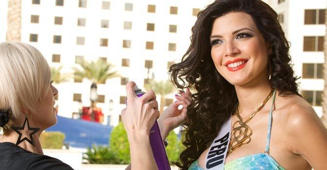 Bellezas del mundo ya están en Las Vegas