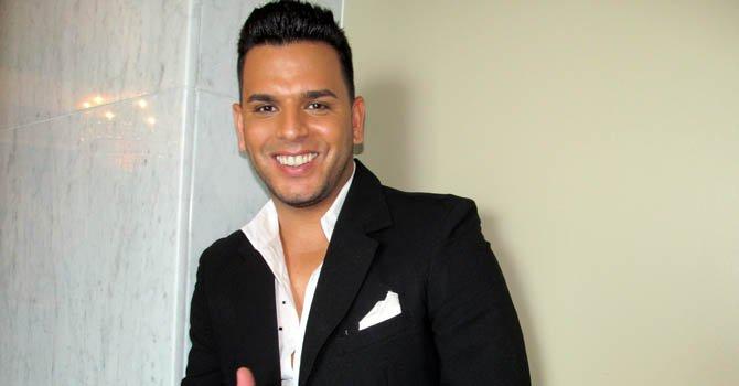 """El cantante puertorriqueño Tito """"El bambino""""."""