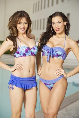 Miss El Salvador y Miss Dominicana