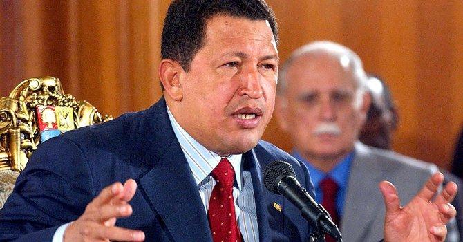 El presidente de Venezuela Hugo Chávez Frías tendría que abandonar el poder.
