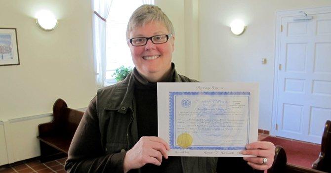 Gays en Maryland ya tienen licencia para casarse