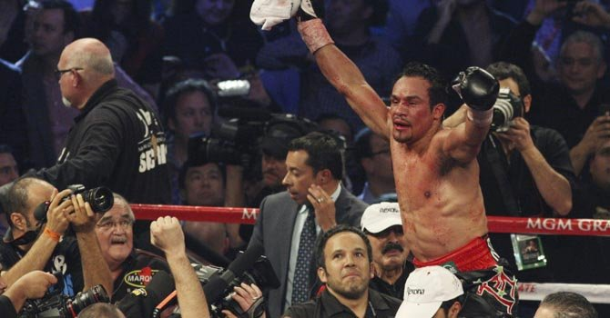 Márquez fulminó a Pacquiao en el sexto round