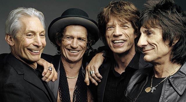El promedio de edad de los integrantes de Rolling Stones es 68 años.