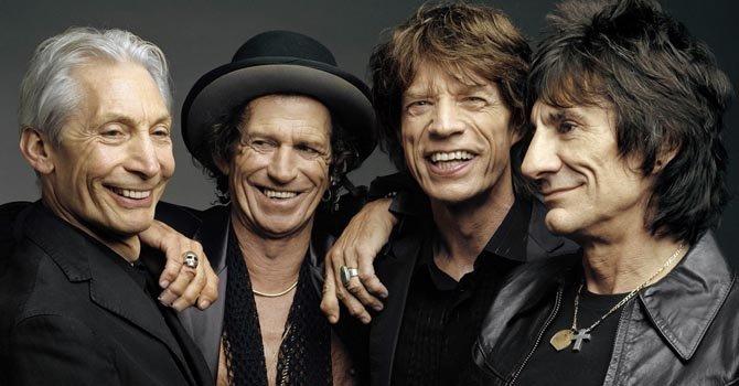 Los Rolling Stones festejan 50 años de música