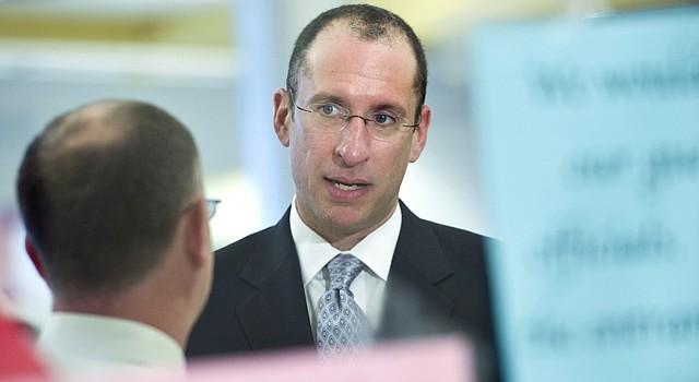 Joshua Starr, superintendente de las Escuelas Públicas de Montgomery.