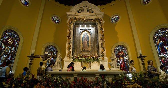 Latinoamérica celebra a la Virgen de Guadalupe