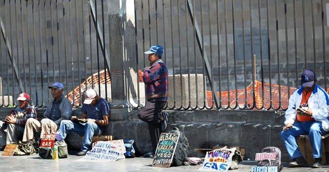 Prevalece el desempleo en México