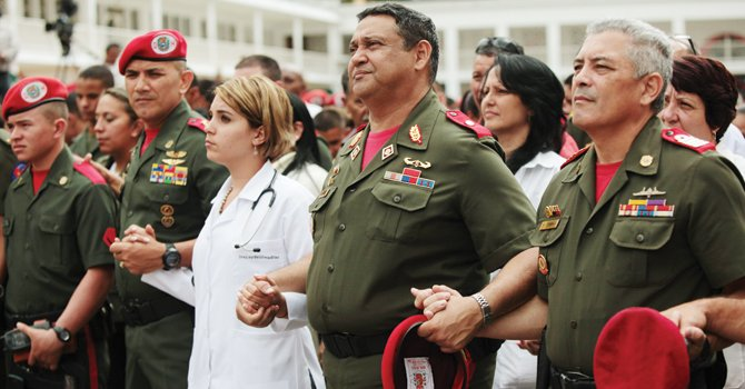 MISA. Por Chávez, en el Palacio de Miraflores de Caracas, el miércoles 12.