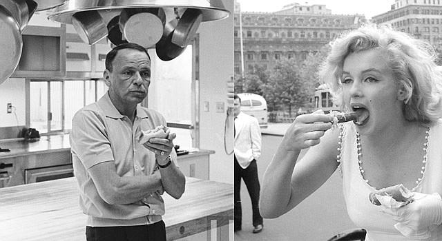 GALÁN. Frank Sinatra, cantante, tenía pasión por las berenjenas. DIVA. A la actriz Marilyn Monroe le encantaba la sopa de tomate.