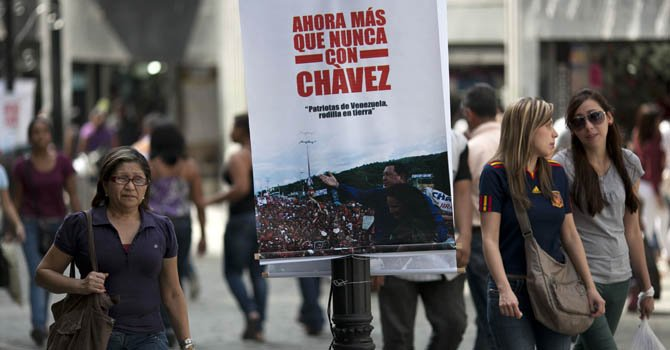 Venezuela en jornada electoral sin Chávez